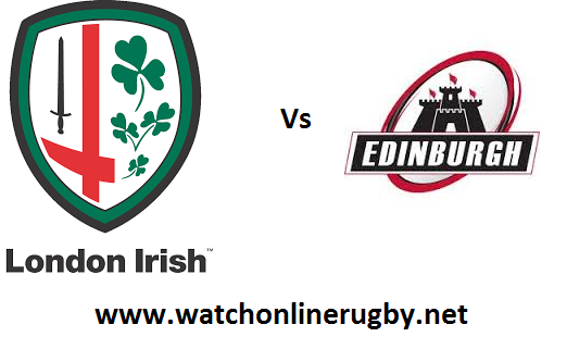 London Irish vs Edinburgh