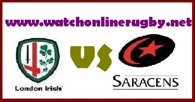 London Irish vs Saracens live