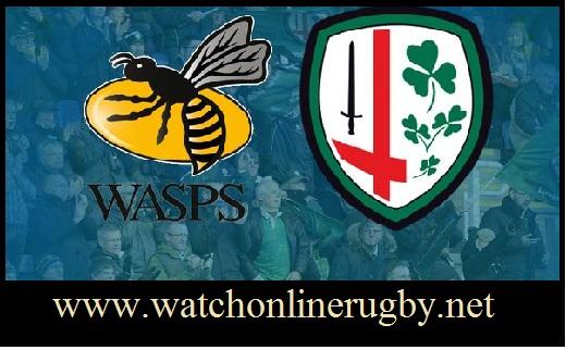 London Irish vs Wasps