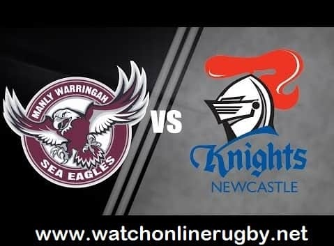 Manly-Warringah Sea Eagles vs Newcastle Knights live