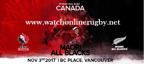 Maori All Blacks vs Canada
