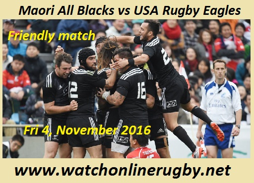 Maori All Blacks vs USA Rugby Eagles