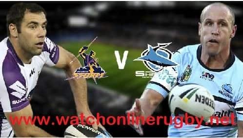 Melbourne Storm vs Cronulla-Sutherland Sharks live