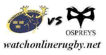 Munster vs Ospreys live