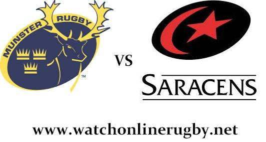 Munster vs Saracens live