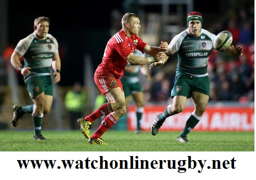 Munster vs Leicester stream live