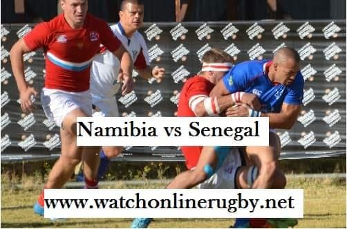 Namibia vs Senegal rugby live