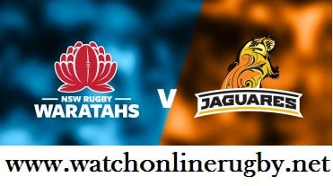 Jaguares VS New South Wales Waratahs