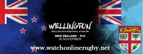 New Zealand vs Fiji