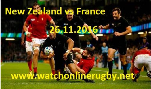 New Zealand vs France live