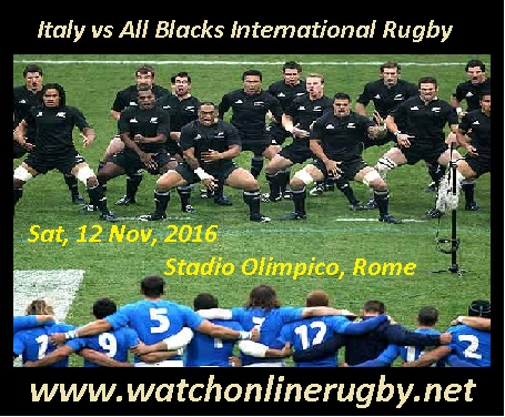 New Zealand vs Italy live online