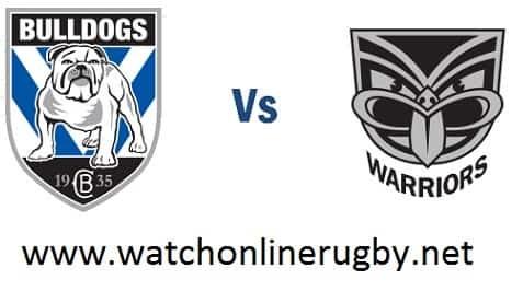 New Zealand Warriors vs Bulldogs live