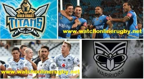 New Zealand Warriors vs Gold Coast Titans live