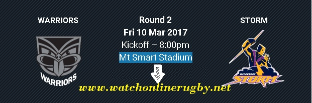New Zealand Warriors vs Melbourne Storm live