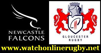 Newcastle Falcons vs Gloucester Rugby