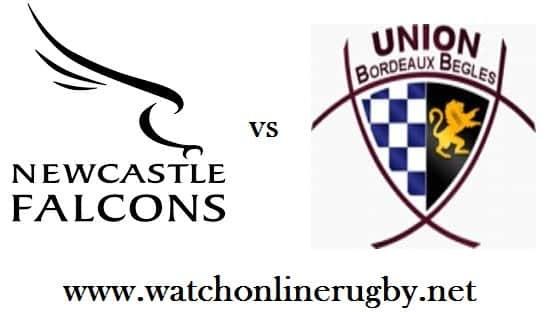 Newcastle Falcons vs Bordeaux