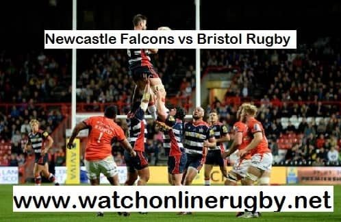 Newcastle Falcons vs Bristol Rugby live