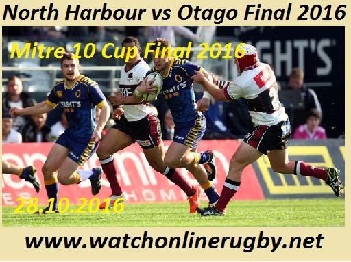 North Harbour vs Otago final live