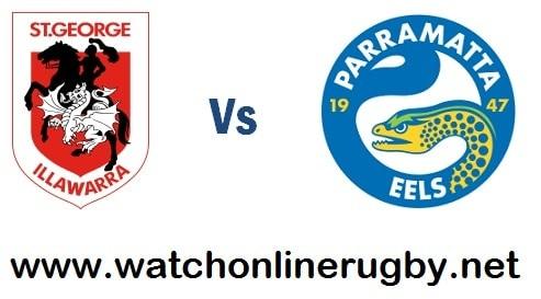 Parramatta Eels vs Dragons live