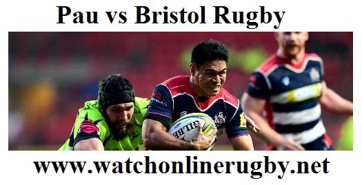 Pau vs Bristol Rugby live