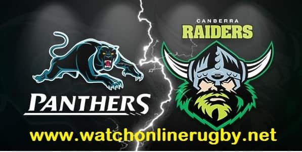Penrith Panthers vs Canberra Raiders live