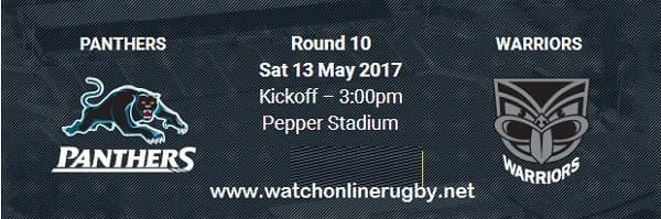 Penrith Panthers vs New Zealand Warriors live
