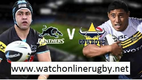 Penrith Panthers vs North Queensland Cowboys live