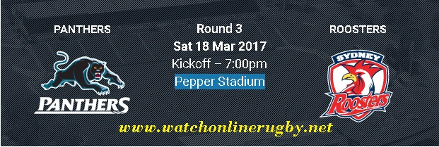 Penrith Panthers vs Sydney Roosters live