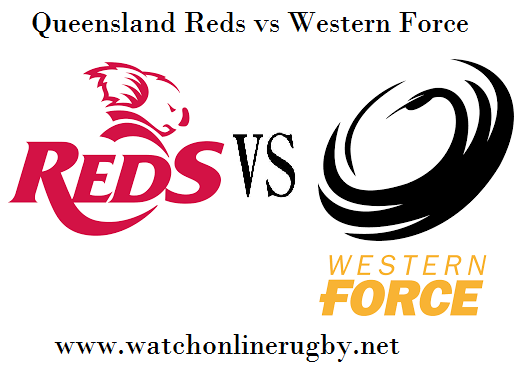Force vs Reds rugby live