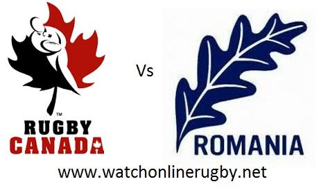 Romania vs Canada rugby live