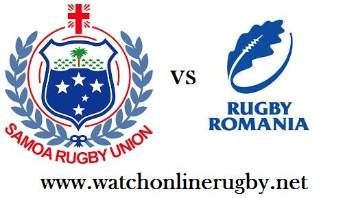 Romania vs Samoa