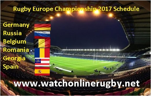 Rugby Europe Championship 2017 live