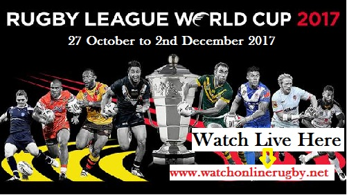 Rugby League World Cup 2017 Schedule