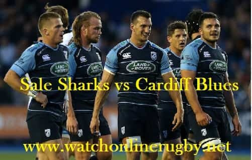 Sale Sharks vs Cardiff Blues
