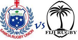 Samoa vs Fiji rugby live