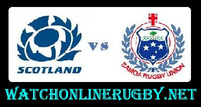 Samoa vs Scotland live