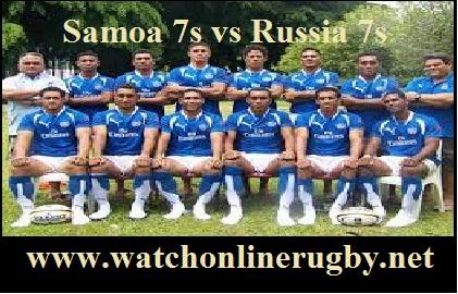 Samoa 7s vs Russia 7s live