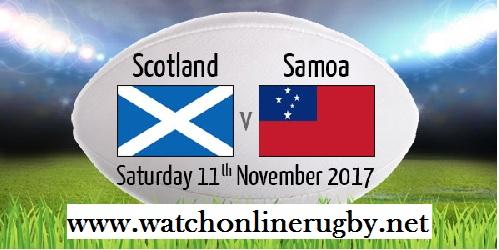 Samoa vs Scotland