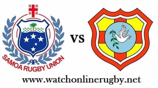 Samoa vs Tonga rugby live