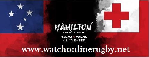 Samoa vs Tonga live