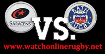 Saracens vs Bath Rugby live