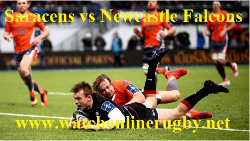 Saracens vs Newcastle Falcons
