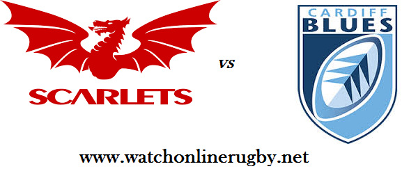 Scarlets vs Cardiff Blues