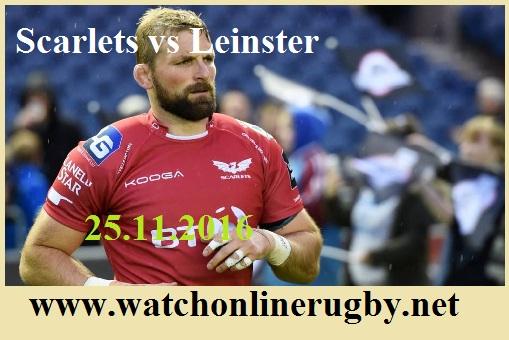 Leinster vs Scarlets live
