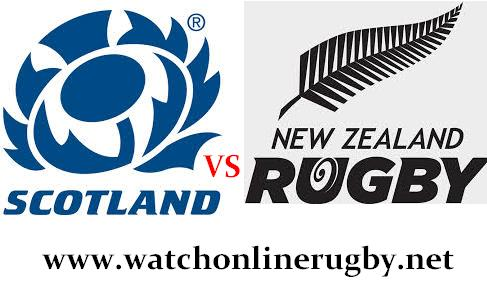 Scotland vs New Zealand