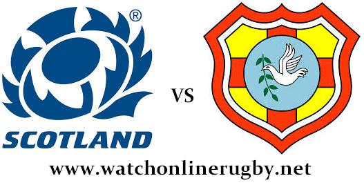 Scotland vs Tonga live