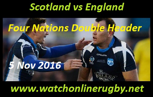 Scotland vs England