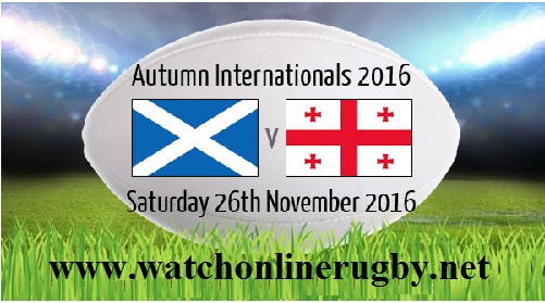 Scotland vs Georgia live