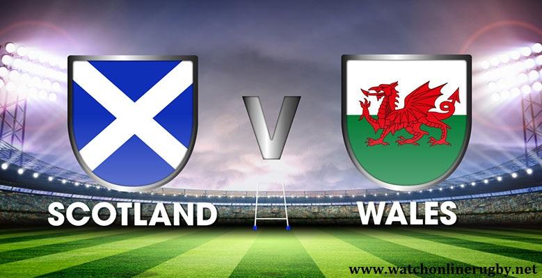 Scotland vs Wales Live
