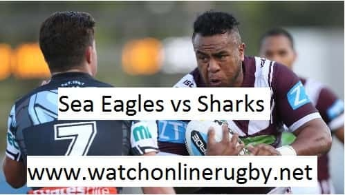 Sea Eagles vs Cronulla-Sutherland Sharks live